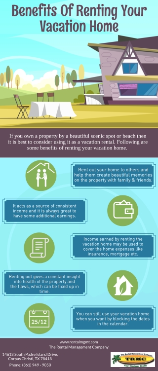Benefits Of Renting Your Vacation Home