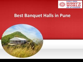 Best Banquet Halls in Pune