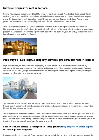 Become an Expert on cyprus property limassol by Watching These 5 Videos