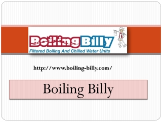 Instant Filtered And Boiling Water- www.boiling-billy.com