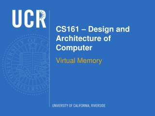 CS161 – Design and Architecture of Computer