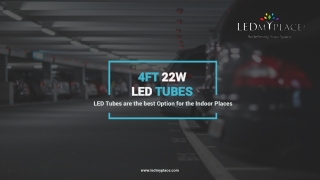 Illuminate Your Interior with New T8 4ft 22w LED Tubes