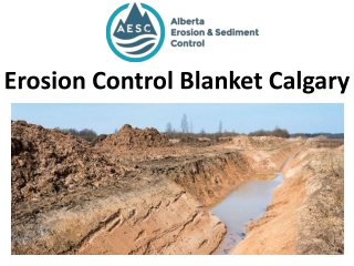 Erosion Control Blanket Calgary