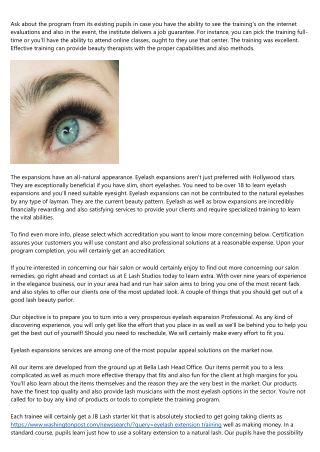 20 Questions You Should Always Ask About eyelashes courses brisbane Before Buying It