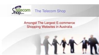 The Telecom Shop - Buy Hosted PBX Telecom Systems & Headsets Australia