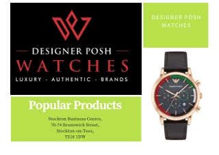 Luxury Branded Watches