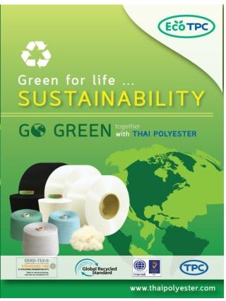 EcoTPC: Sustainable yarn