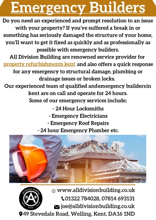 Emergency Builders