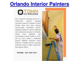 Orlando Interior Painters