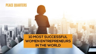 Most Successful Business Women in the World