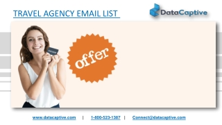 Travel Agency Email List | Travel Agency Mailing Database