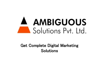Get Top Digital Marketing Company and SEO Services in Noida, India
