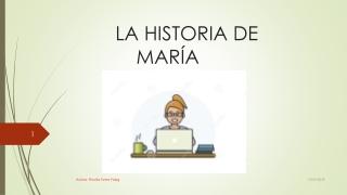 PUBLICO MI ACTIVIDAD: LA HISTORIA DE MARÍA