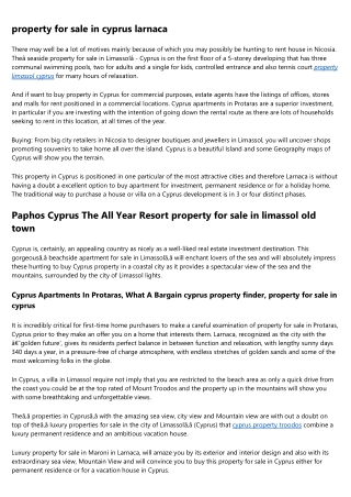 property to buy in cyprus cheap houses