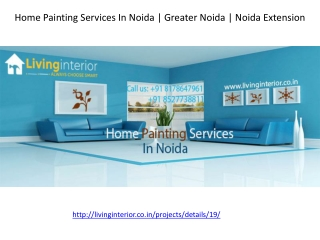Home Painting Services In Noida | Greater Noida | Noida Extension