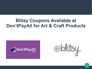 Use Blitsy Coupon for Great Savings