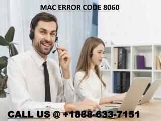 How To Fix Apple Mac Error Code 8060?