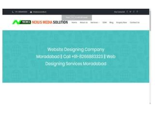 Website Designing Company Moradabad