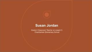 Susan Jordan - Teacher From Norton MA