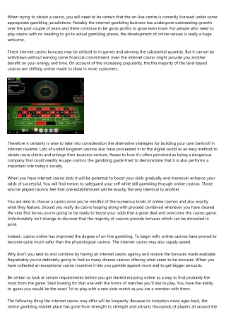 7 Answers to the Most Frequently Asked Questions About Best online casino