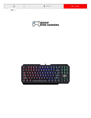 K553 Redragon RGB Anti-Ghosting Mechanical Keyboard