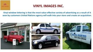 DOT Truck Lettering - VINYL IMAGES INC.