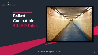 Grab the Offer and Buy Ballast Compatible T8 4ft LED Tube Now