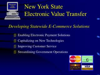 New York State Electronic Value Transfer