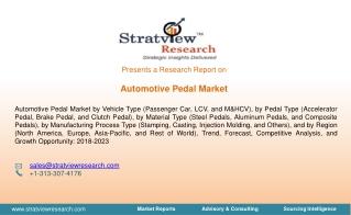Automotive Pedal Market