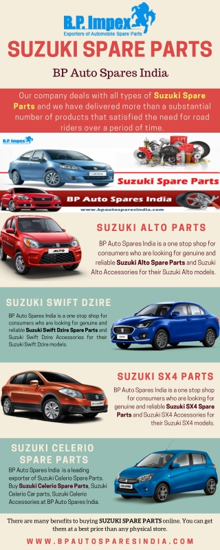 The Largest Collection of Suzuki Spare Parts