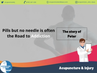 Pills but No Needle Is Often The Road To Addiction - The Story of Peter