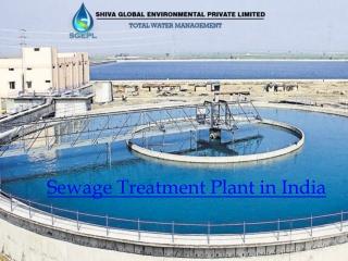 Sewage Treatment Plant in Delhi NCR