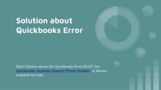 Quickbooks Error Solution Dial 1-800-901-6679