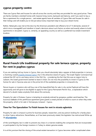 property for sale in Paphos Re-Sale