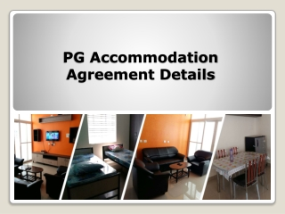 Know More Paying Guest Agreement Details