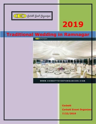 Traditional Wedding in ramnagar