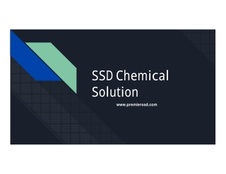 SSD Chemical Solution For Sale