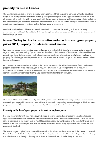 11 Ways to Completely Revamp Your property for sale in cyprus with title deeds