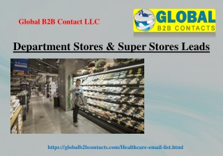 Department Stores & Super Stores Leads