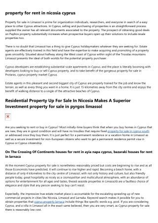 property in limassol cyprus - 2000 Properties