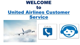 Book flights from United Airlines Customer Service