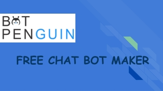 Chatbot developing platform