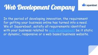 Web Development/ App Development