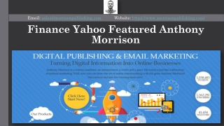 Finance Yahoo Featured Anthony Morrison