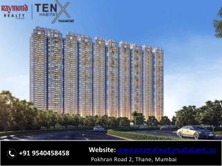 Raymond Tenx Habitat Pokhran Road 2 Thane, Mumbai