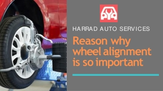 3 Reasons Why wheel alignment is so important | car wheel alignment brampton
