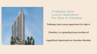 Tridhaatu Aum in Chembur-Price, Location Map Call 8130629360