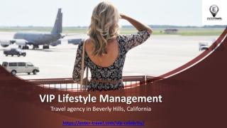 VIP Lifestyle Management