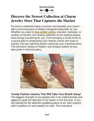 Charm Jewelry Store