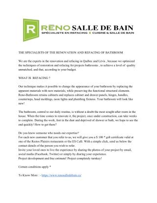 Refacing Salle De Bain